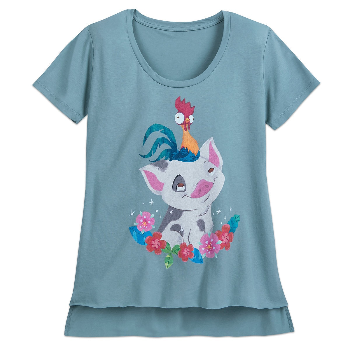 5bdba70cb Product Image of Pua and Hei Hei T-Shirt for Women - Moana # 1