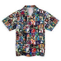 Image of Mickey Mouse Camp Shirt for Adults # 1