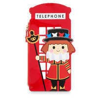Image of Disney it's a small world Beefeater Zip Case # 1