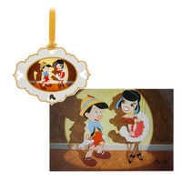 Image of Pinocchio Artist Series Sketchbook Ornament and Lithograph Set - Limited Edition # 1