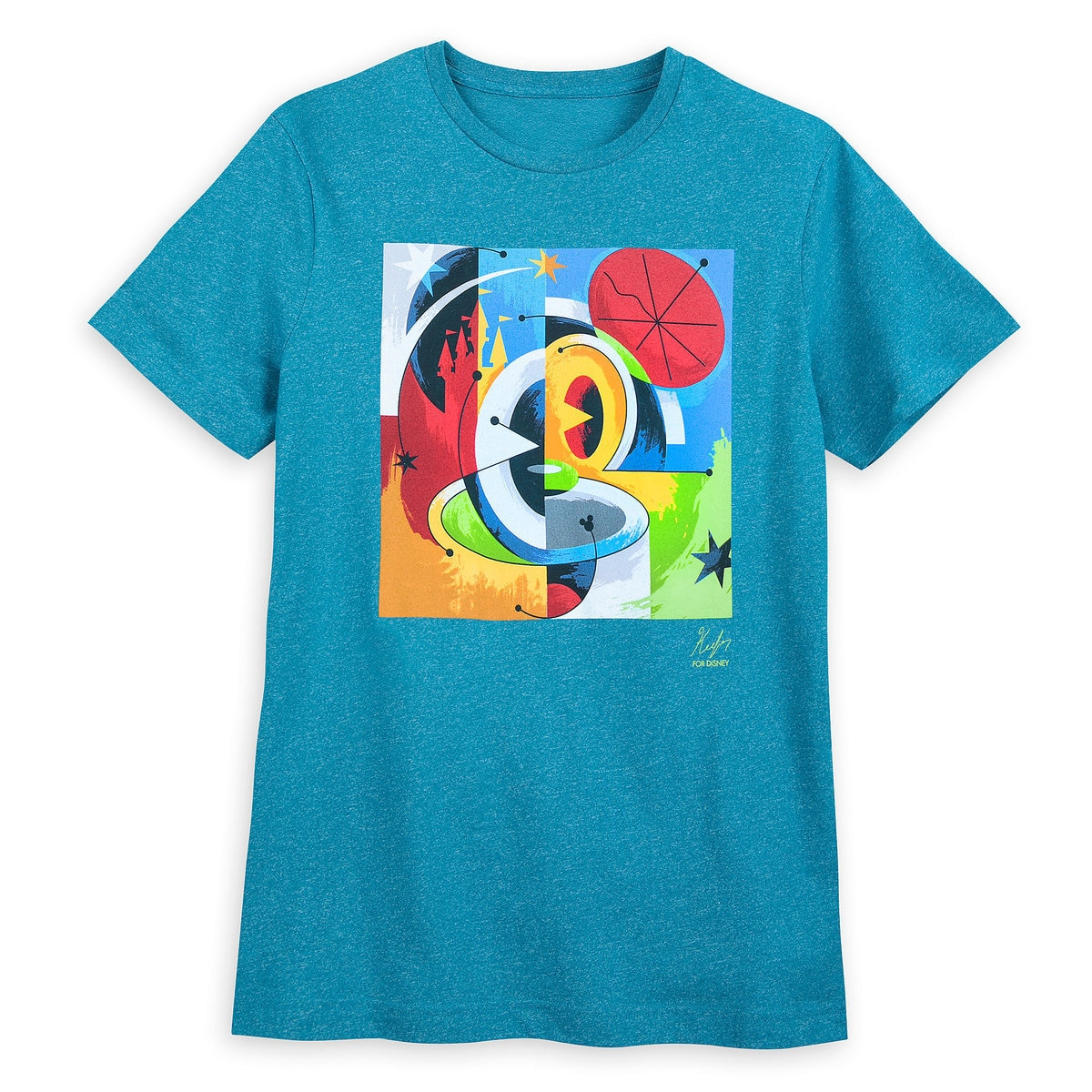 a5c92e3de3730a Product Image of Mickey Mouse Disney Parks Artist Series T-Shirt for Men by  Dave