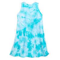 Image of Moana Tie-Dye Knit Dress for Girls # 2
