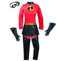Image of Mrs. Incredible Costume for Adults - Incredibles 2 # 2