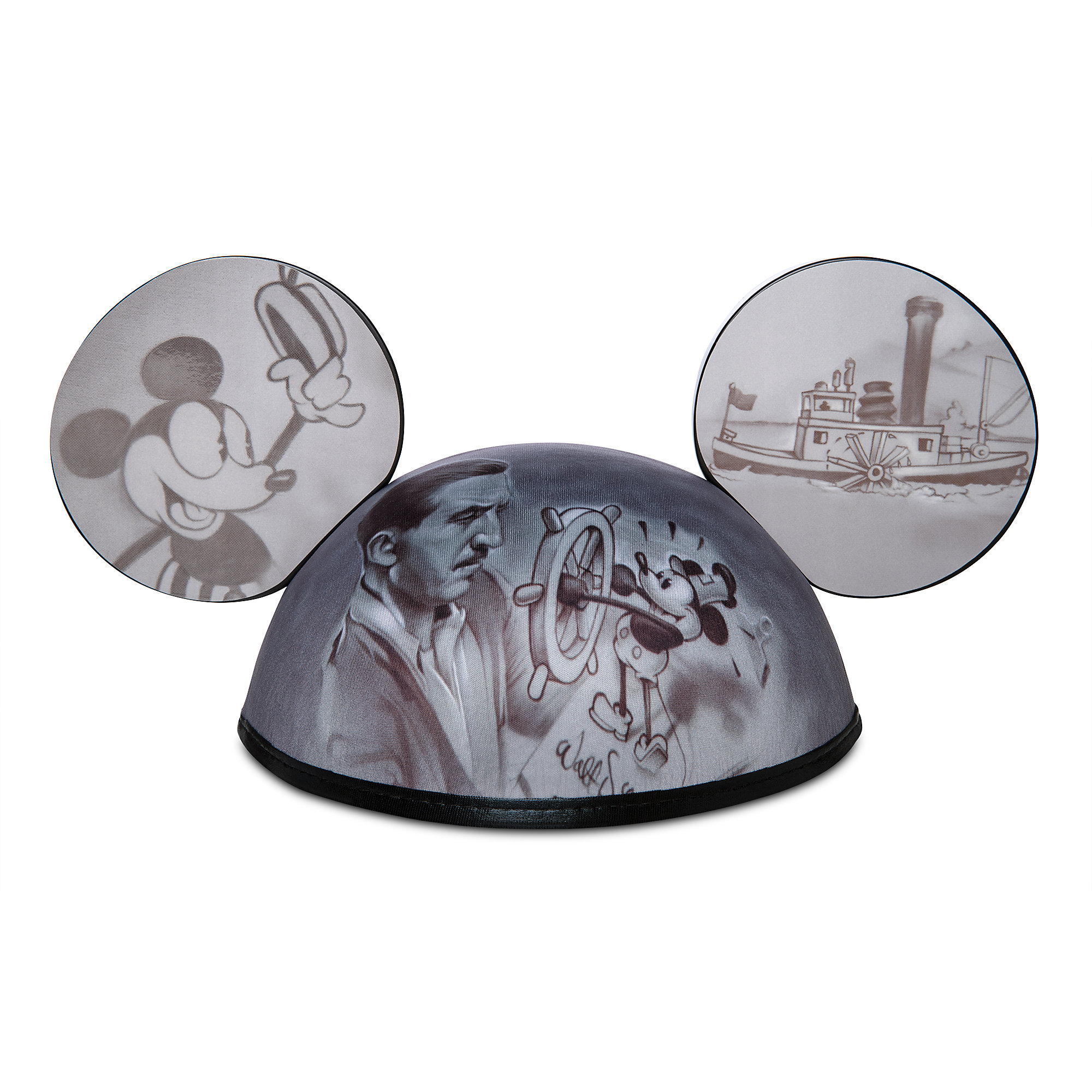 Mickey Mouse Steamboat Willie Ear Hat by Noah is now available online