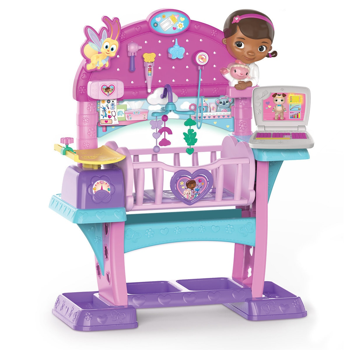 9af36dfdce9 Product Image of Doc McStuffins All-In-One-Nursery Playset   1