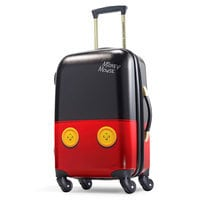 Image of Mickey Mouse Pants Luggage - American Tourister - Small # 1