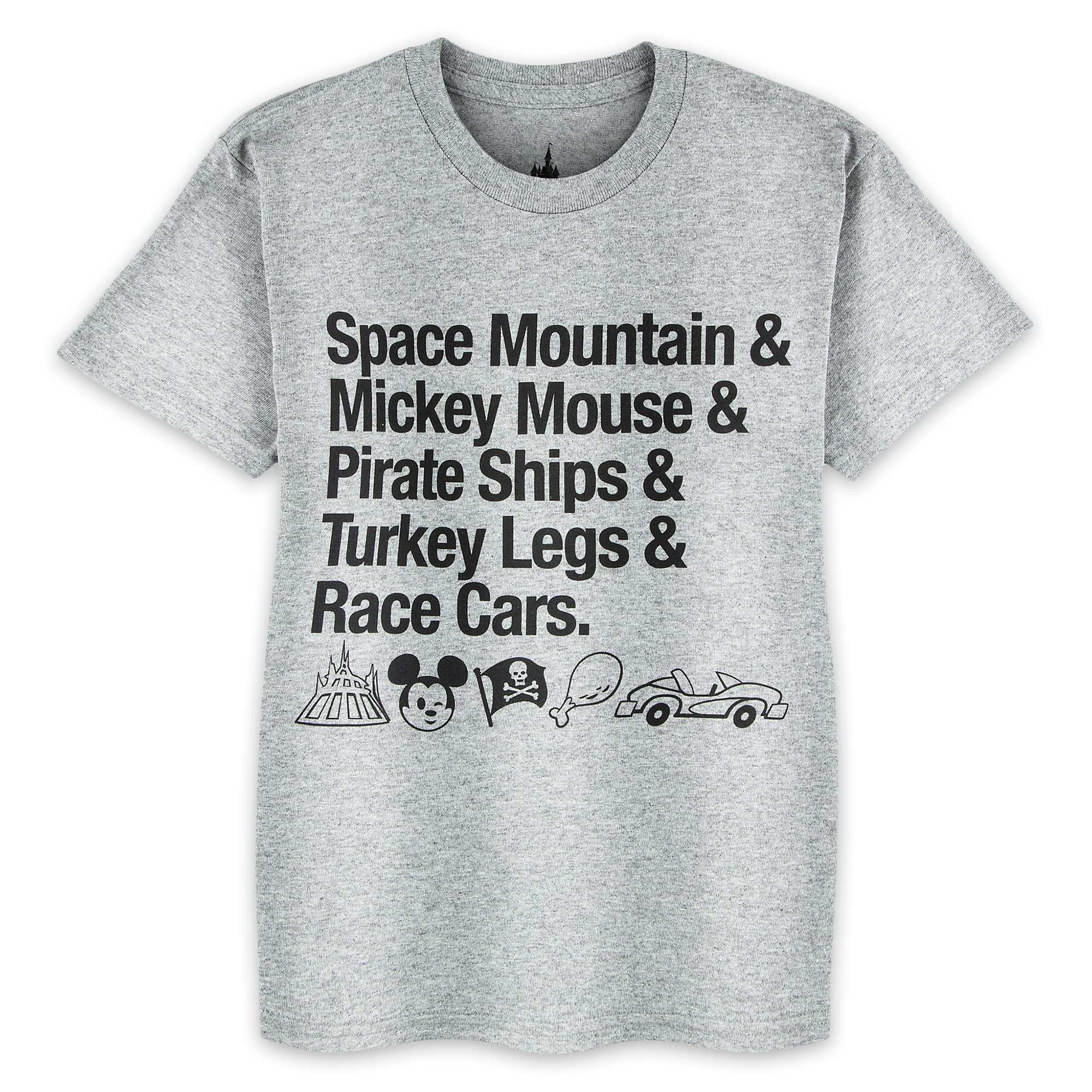 Disney Parks Attractions T-Shirt for Kids