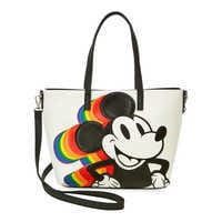Image of Mickey Mouse Rainbow Tote by Loungefly # 1