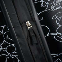 Image of Mickey Mouse Line Art Rolling Luggage by American Tourister - Large # 7