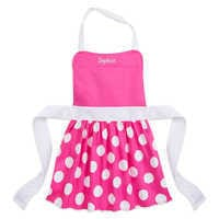 Image of Minnie Mouse Chef's Hat and Apron Set for Kids - Disney Eats - Personalizable # 2