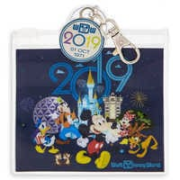 Image of Walt Disney World Pin Trading Pouch - 2019 # 1
