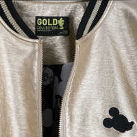 Image of Mickey The True Original Varsity Jacket for Women - Gold Collection # 7