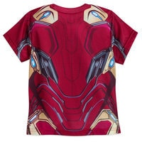 Image of Iron Man Costume T-Shirt for Boys - Marvel's Avengers: Infinity War # 2
