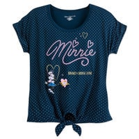 Sailor Minnie Mouse Tie-Front Top - Disney Cruise Line - Women