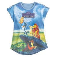 Image of The Lion King VHS Cover T-Shirt for Women # 1