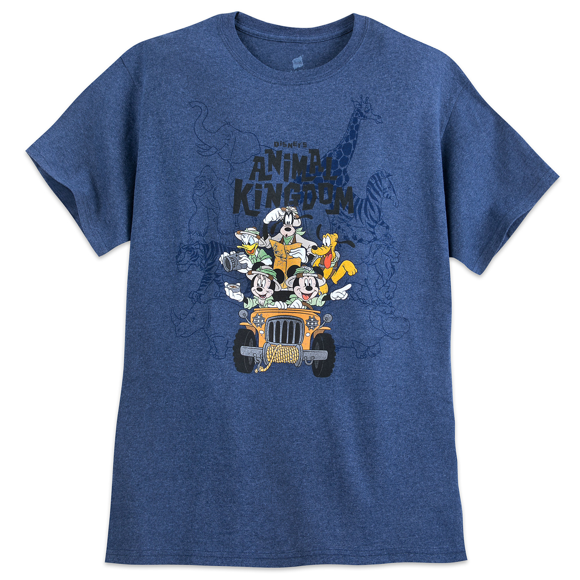 Mickey Mouse and Friends Safari T-Shirt for Adults - Disney's Animal Kingdom