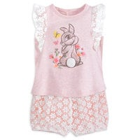 Image of Miss Bunny Shorts Set for Baby # 1