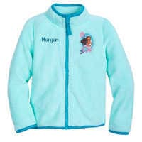 Image of Moana Zip Fleece Zip Jacket for Kids - Personalizable # 1