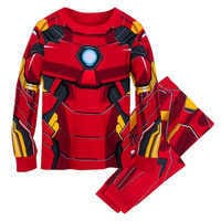 Image of Iron Man Costume PJ PALS for Kids # 1