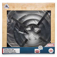 Image of Captain America Shield Cake Pan Set - Disney Eats # 2