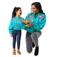 Image of Aladdin Bomber Jacket for Girls - Live Action Film # 2