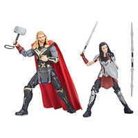 Image of Thor and Sif Action Figure Set - Legends Series - Marvel Studios 10th Anniversary # 2