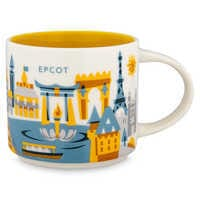 Image of Epcot Starbucks YOU ARE HERE Mug # 1