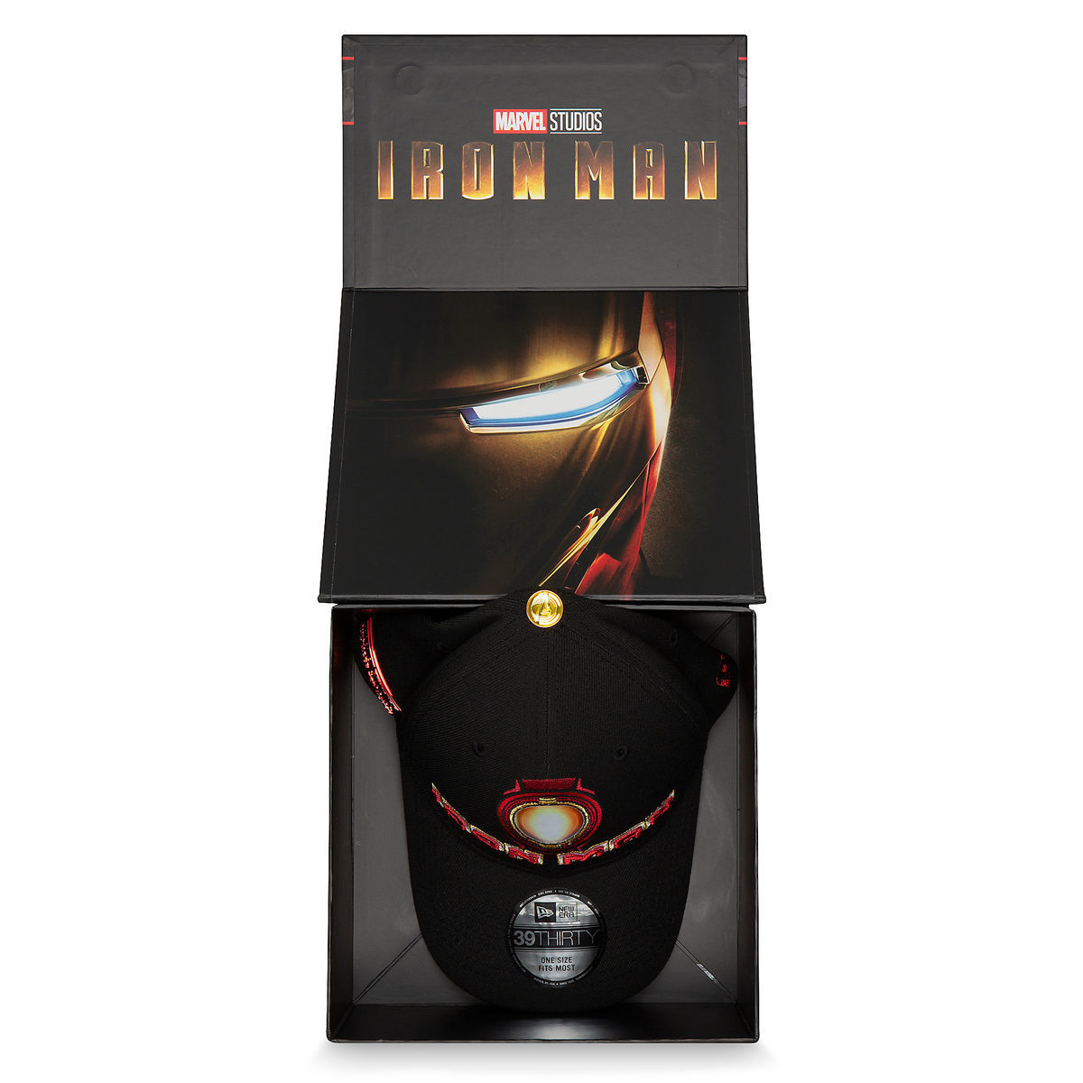c50cd86efa7 Product Image of Limited Edition Collector Boxed Iron Man Cap by New Era -  Marvel Studios