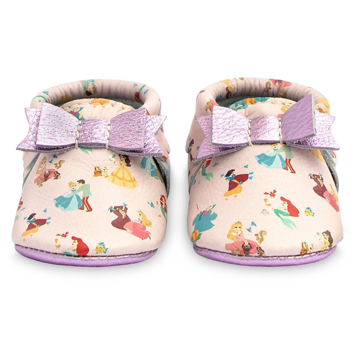 5cda4b427bc Product Image of Disney Princess Moccasins for Baby by Freshly Picked   1
