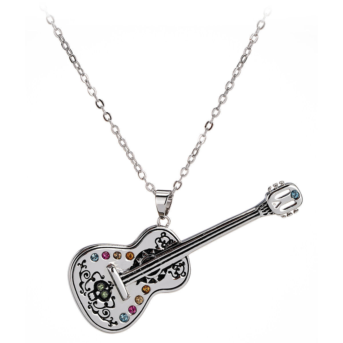 Coco Guitar Necklace By Arribas Shopdisney