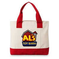 Image of Al's Toy Barn Large Tote Bag - Toy Story # 1