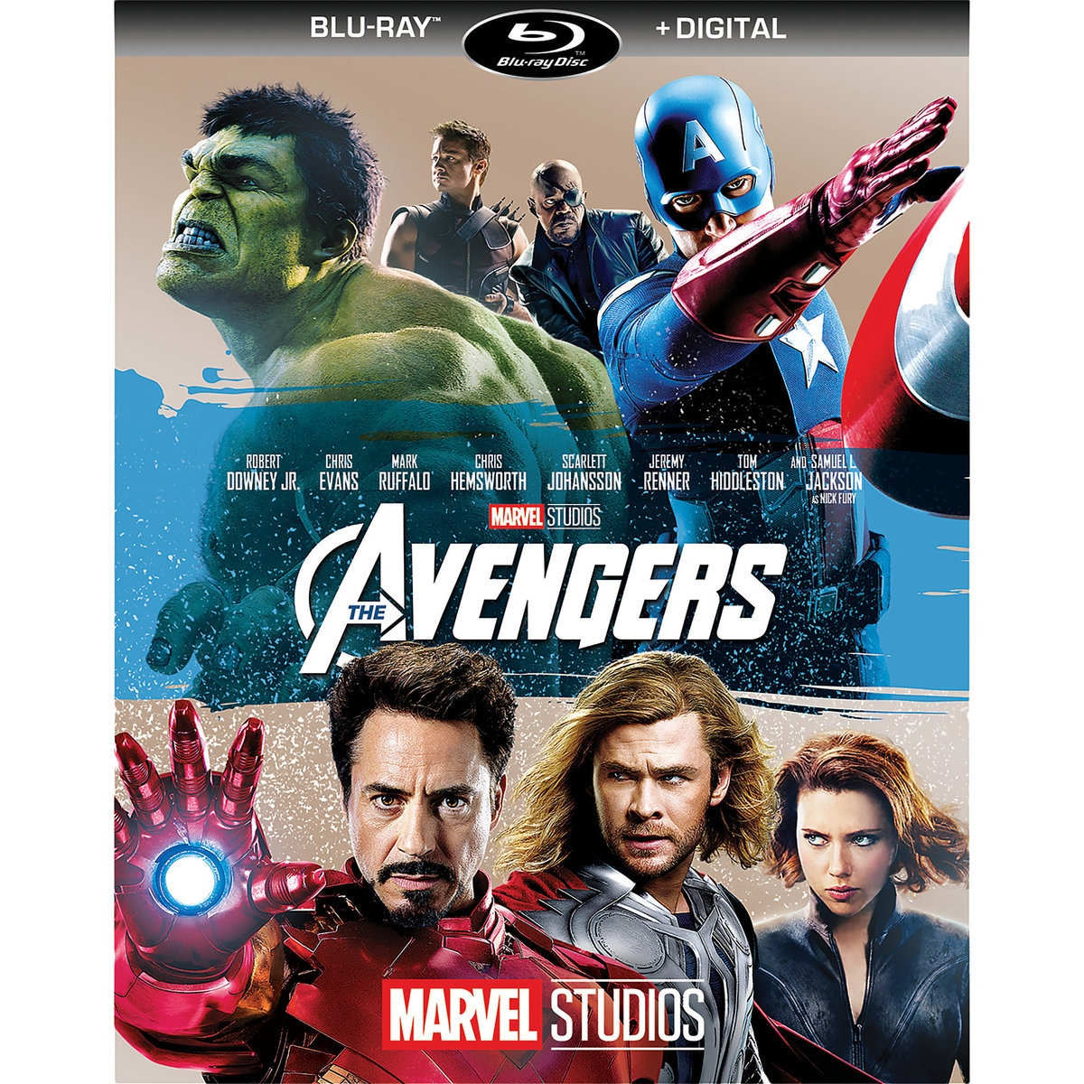 marvels the avengers blu ray digital copy - The Avengers