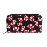 Image of Minnie Mouse Bow Wallet # 1