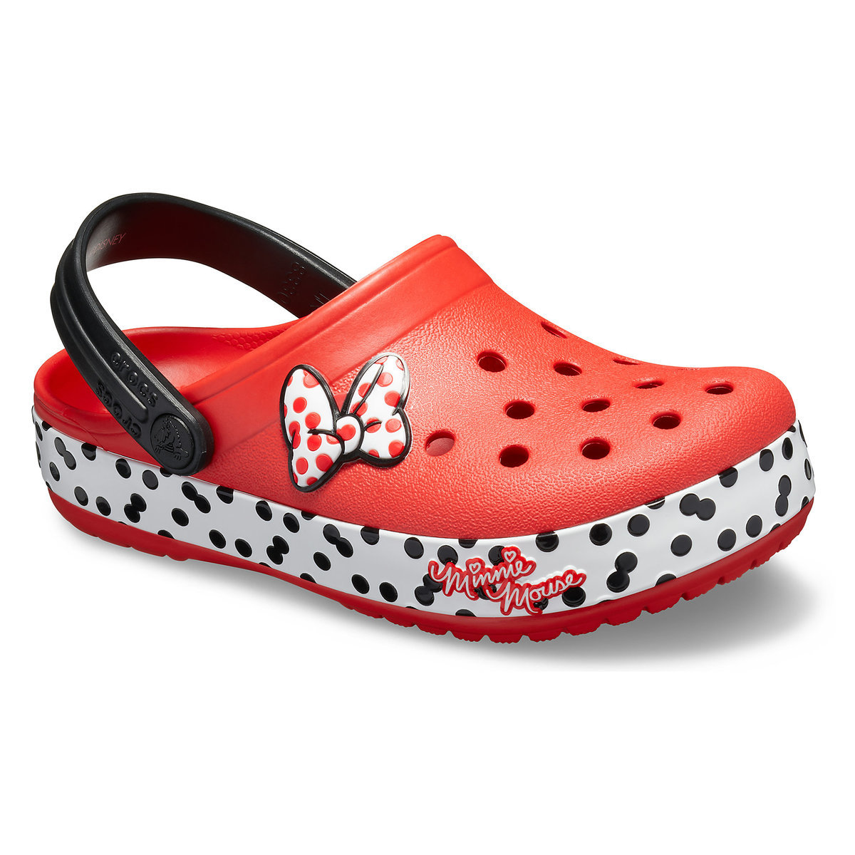 77c2b5865c73 Product Image of Minnie Mouse Crocband Clogs for Kids by Crocs   1