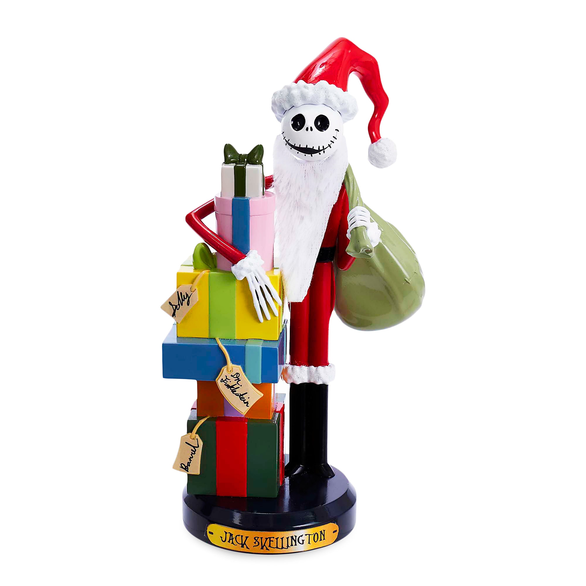 Santa Jack Skellington Nutcracker
