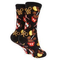 Image of Mickey Mouse Disney Parks Food Icon Cupcake Socks for Kids # 2