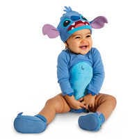 Image of Stitch Costume Bodysuit Set for Baby - Personalizable # 2