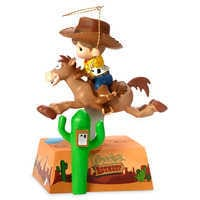 Image of Woody and Bullseye Music Box Figurine by Precious Moments # 1