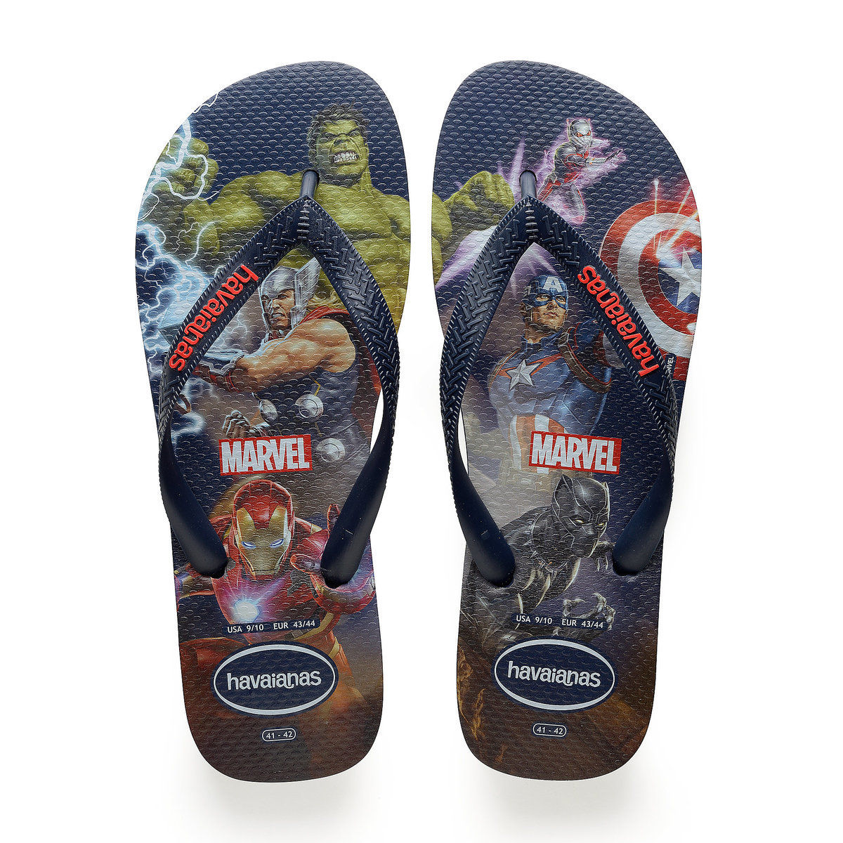 330f1dfcc Product Image of Marvel Avengers Flip Flops for Kids by Havaianas   1