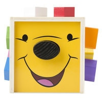 Winnie the Pooh and Pals Wooden Shape Sorting Cube by Melissa & Doug