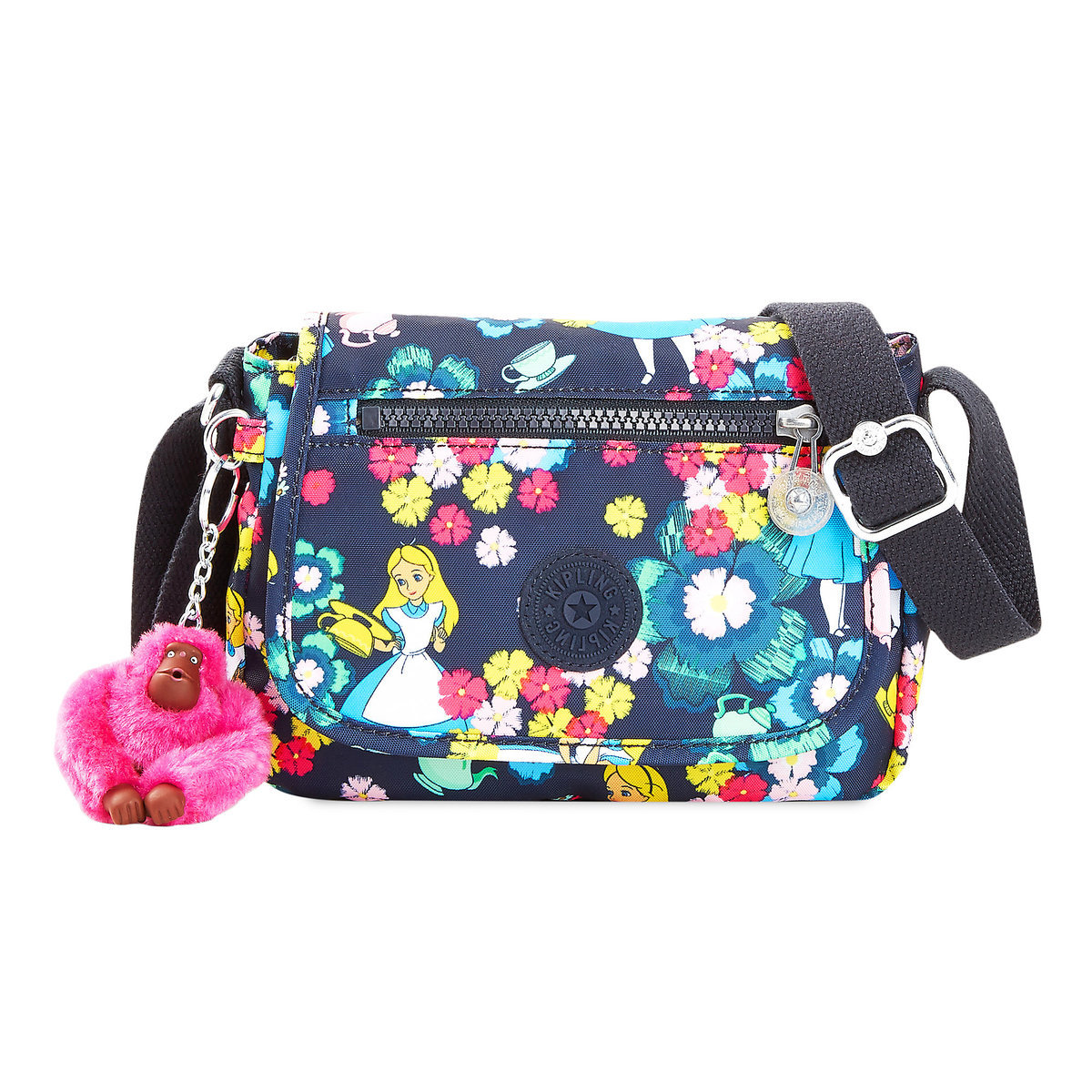 9058459644 Product Image of Alice in Wonderland Crossbody Bag by Kipling - Small # 1