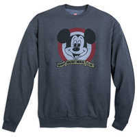 Image of Mickey Mouse Club ''Official Mouseketeer'' Pullover for Adults # 1