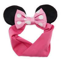 Image of Minnie Mouse Ears Headband for Baby # 1