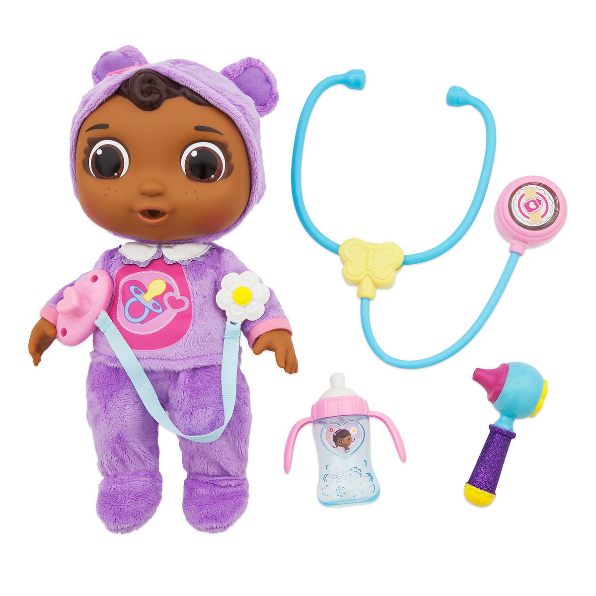 doc mcstuffins get better baby cece doll playset shopdisney