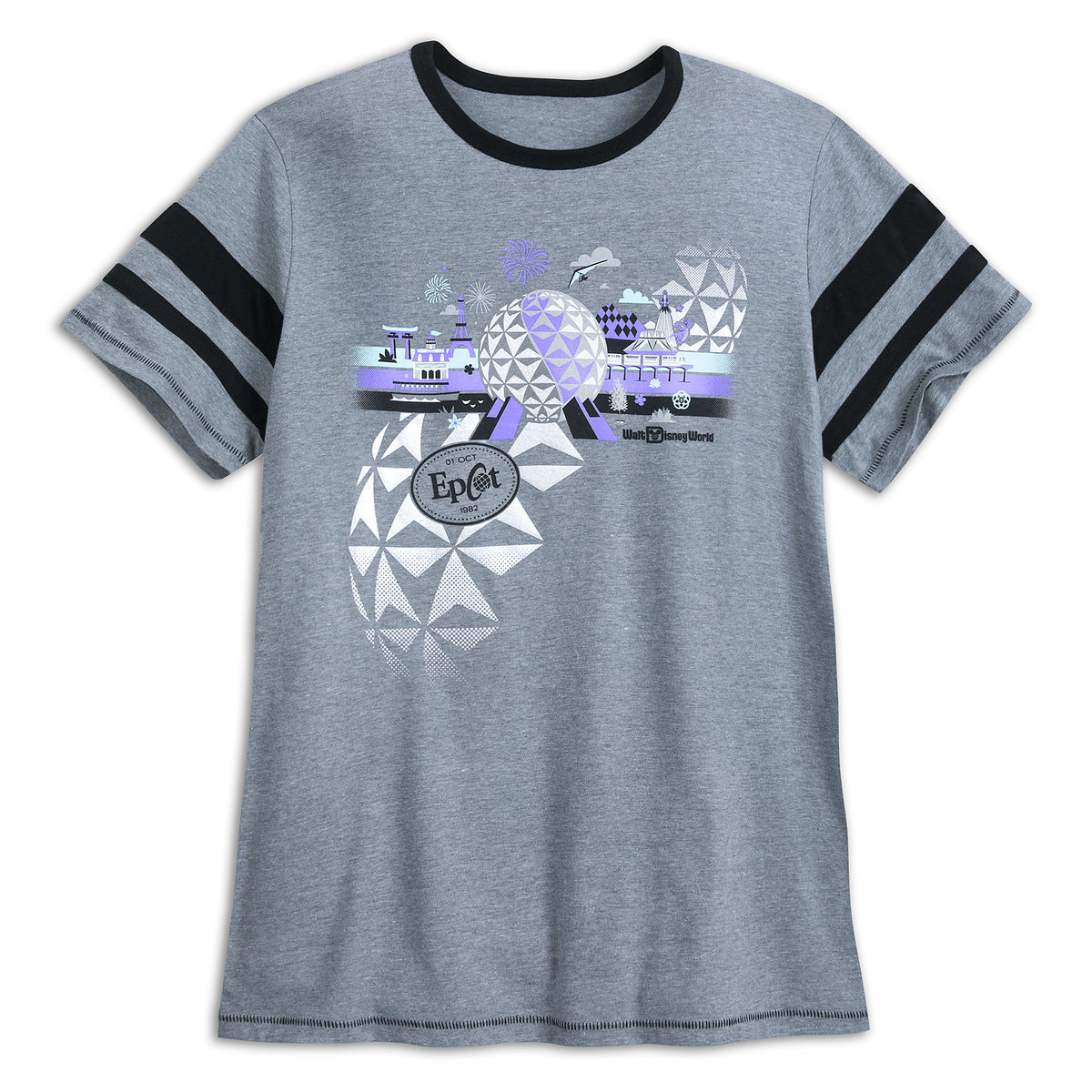 f690bdf8a21dea Product Image of Epcot Athletic Jersey T-Shirt for Adults - Walt Disney  World #