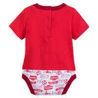 Image of Lightning McQueen Cuddly Bodysuit for Baby # 2