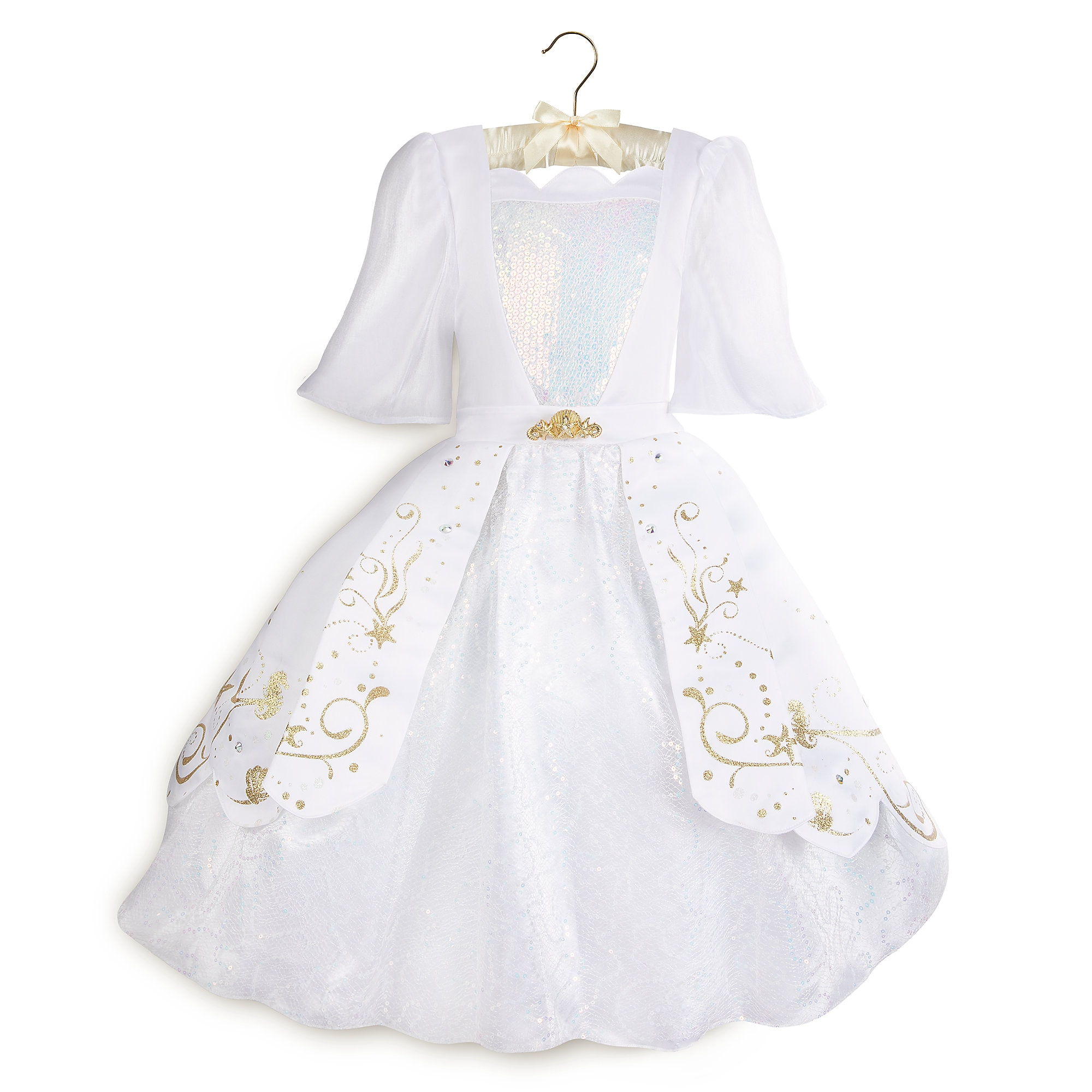 Ariel Designer Wedding Gown Costume for Kids