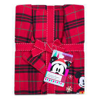 Image of Mickey Mouse Holiday Plaid PJ Set for Men - Personalizable # 4