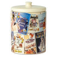 Image of Walt Disney Classic Film Poster Collage Kitchen Canister # 2