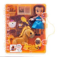 Image of Disney Animators' Collection Belle Mini Doll Play Set # 3
